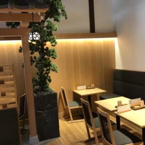 名古屋の金シャチ横丁 天ぷら天丼専門店「徳川忠兵衛」店内4